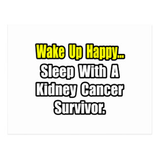 Sleep With a Kidney Cancer Survivor Postcards