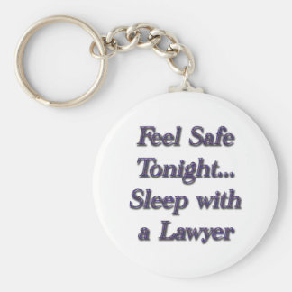 sleep with a lawyer key ring