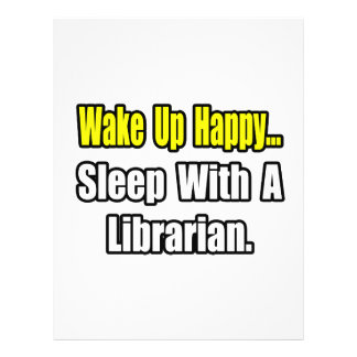 Sleep With a Librarian Full Color Flyer