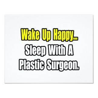 Sleep With A Plastic Surgeon 11 Cm X 14 Cm Invitation Card