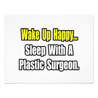Sleep With A Plastic Surgeon Custom Invites