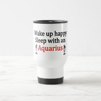Sleep With An Aquarius Travel Mug
