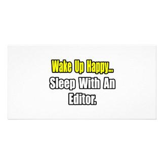 Sleep With an Editor Photo Cards