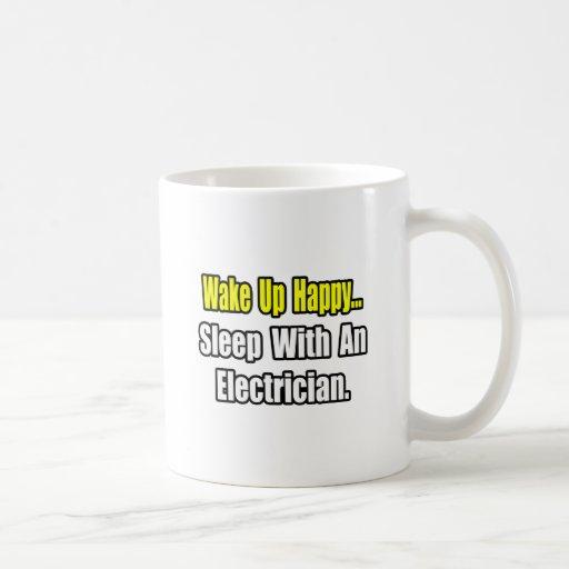 Sleep With an Electrician Coffee Mug