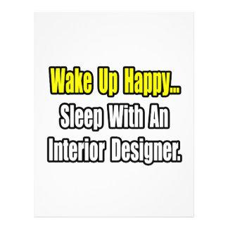 Sleep With An Interior Designer 21.5 Cm X 28 Cm Flyer
