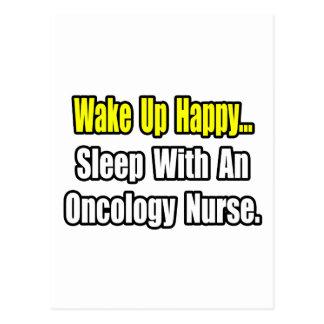 Sleep With An Oncology Nurse Postcard