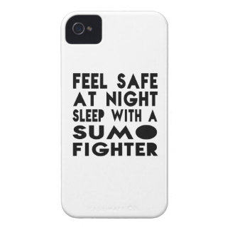 Sleep With Sumo Fighter Funny Designs iPhone 4 Cover