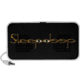 Sleepdeep Logo Travel Speakers