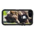 Sleeping Alaska Grizzly Bear OtterBox Defender iPhone Case