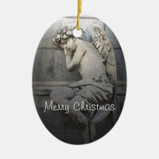 Sleeping Angel Christmas Ornament