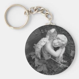 Sleeping Angel Keychain
