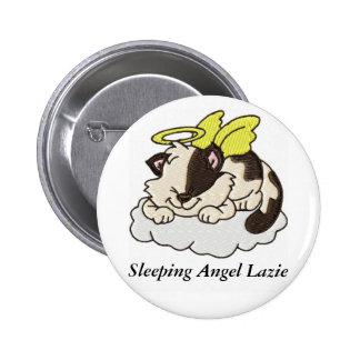 Sleeping Angel Lazie - Button 2 Inch Round Button
