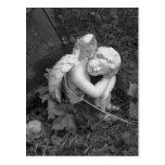 Sleeping Angel Post Card