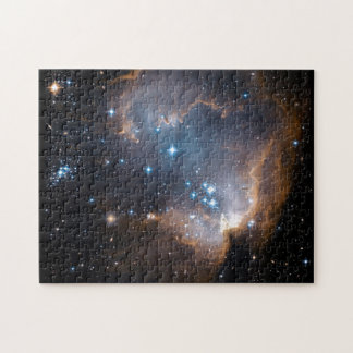 Sleeping Angel Star Cluster Jigsaw Puzzles