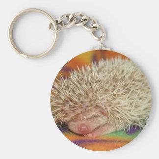 sleeping baby keychain