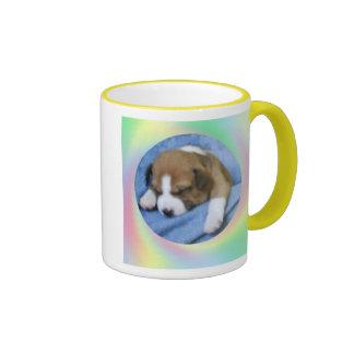 Sleeping Basenji Pup Mug