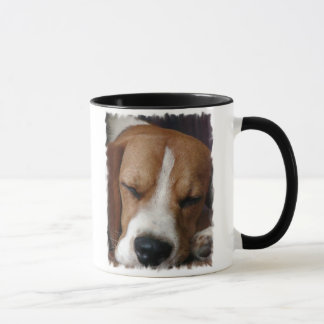 Sleeping Beagle Coffee Mug
