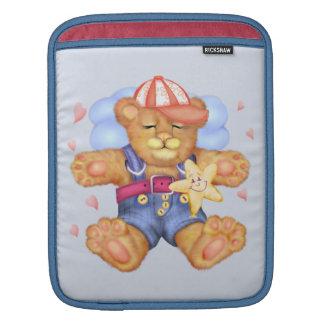 SLEEPING BEAR BABY CARTOON iPad Vertical iPad Sleeve