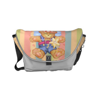 SLEEPING BEAR BABY Rickshaw SMALL Messenger Bag