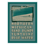 Sleeping Bear Dunes Northern Michigan Poster