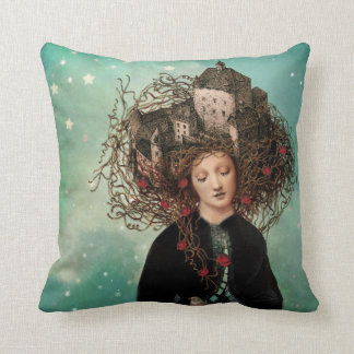 Sleeping Beauties Dream Throw Pillow