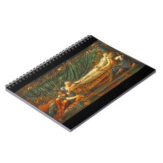 Sleeping Beauty 1871 Spiral Notebook