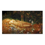 Sleeping Beauty and a Harp Business Card Template