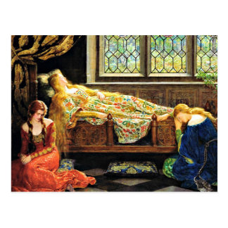 Sleeping Beauty artwork Postcards