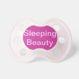 Sleeping Beauty Pacifier