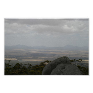 Sleeping Beauty The Stirling Ranges From Castle Ro Posters