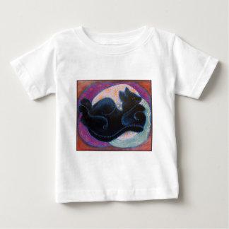 Sleeping Black Cat. Infant T-Shirt