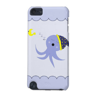 Sleeping Blue Octopus iPod Touch 5G Case