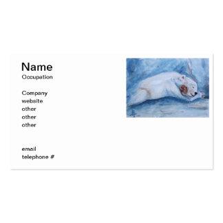Sleeping Buddies Business Card Template