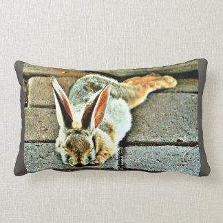 Sleeping Bunny Custom Pillow