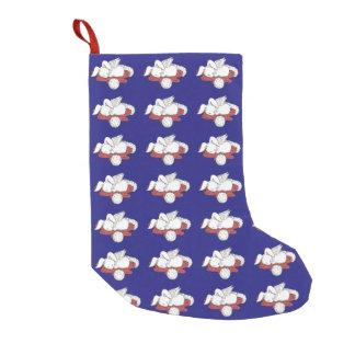Sleeping bunny - Holiday Stocking