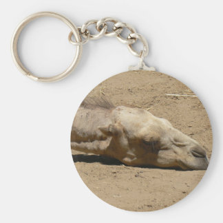 Sleeping camel key ring