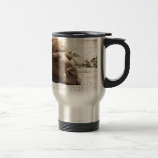 Sleeping Camel Stainless Steel Travel Mug