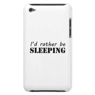 Sleeping Barely There iPod Case