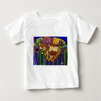 Sleeping Cat by Piliero Baby T-Shirt