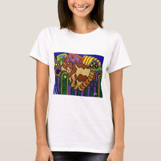 Sleeping Cat by Piliero T-Shirt