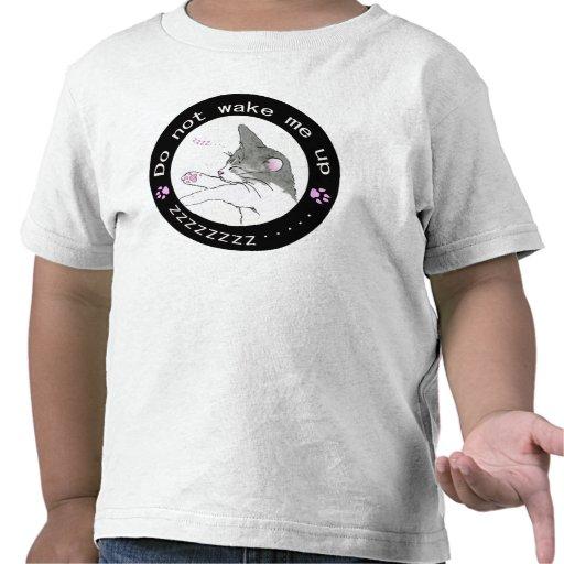 sleeping cat (Circle) 1 T-shirt
