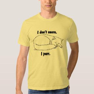 Sleeping Cat Tee Shirt