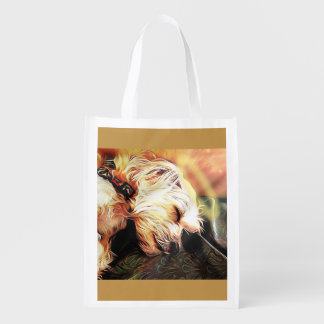 Sleeping Cherub Reusable Bag