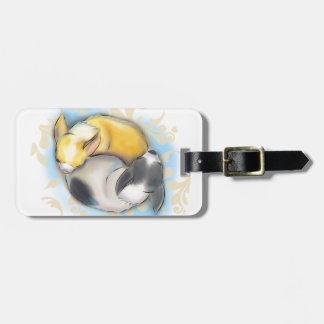 Sleeping Chihuahuas Luggage Tag
