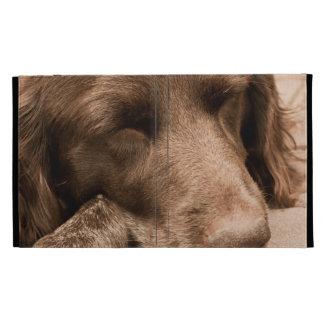 Sleeping Dog iPad Folio Case