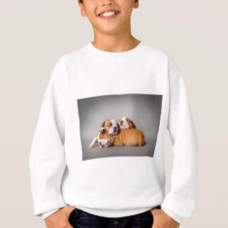 Sleeping English bulldog Sweatshirt