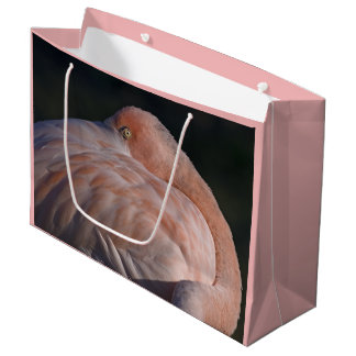 Sleeping Flamingo Gift Bag