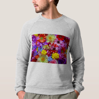 Sleeping flower sweat sweatshirt