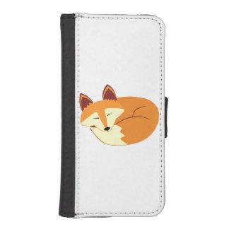 Sleeping Fox iPhone 5 Wallets