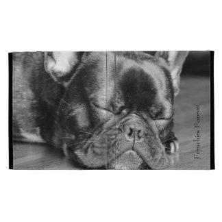 Sleeping French Bulldog iPad Folio Covers